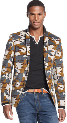Camo M151 Jacket, Courduroy Print Blazer