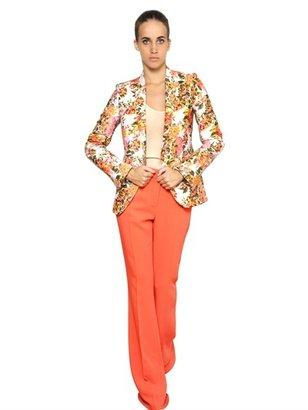 Stella McCartney Flower Cotton Jacquard Jacket