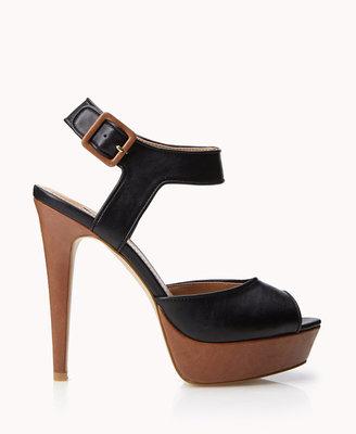 Forever 21 Dancing Nights Platform Sandals