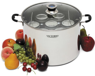 Victorio Stainless Steel Multi Use Canner, 20 Quart