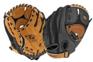 "Wilson A325 EZ Catch Glove, 9.5"" - Right Handed Throw"