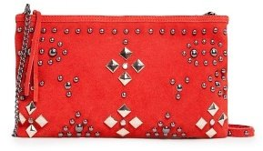 MANGO TOUCH - Studded suede bag
