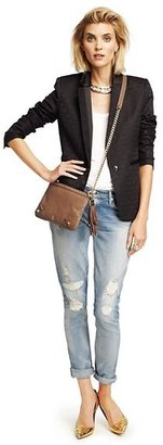 Glam Rock Luxe Leather Crossbody