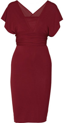Donna Karan Infinity convertible crepe dress