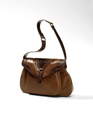 Coldwater Creek Nailhead saddle bag