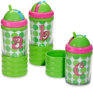 Mud Pie Pink Letter Sip 'n Munch Cup
