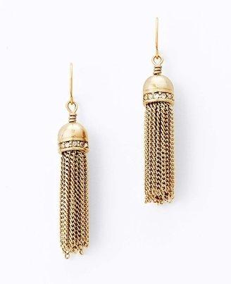 Ann Taylor Townhouse Tassel Earrings