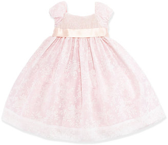 Ralph Lauren Smocked Floral-Print Organza Dress, Girls' 4-6X
