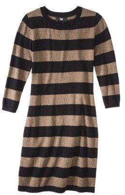 Ultrasoft Mossimo® Women's Long Sleeve Sweater Dress - Brown
