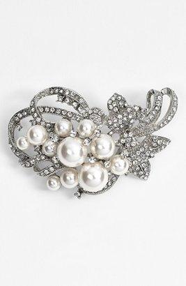 Nina 'Jaela' Faux Pearl & Crystal Brooch $48 thestylecure.com