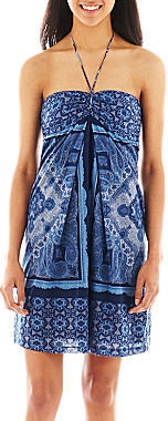Mng by Mango Bandana Print Tube Dress