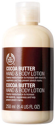The Body Shop Hand & Body Lotion, Cocoa Butter 8.45 oz (250 ml)