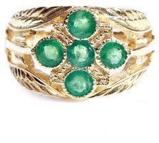 Zoe & Morgan Fine Jewellery Emerald & yellow gold ring
