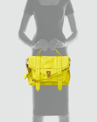 Proenza Schouler PS1 Medium Satchel Bag, Sunshine