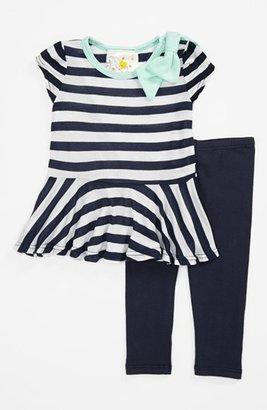 Jenna & Jessie Stripe Top & Leggings (Baby Girls)