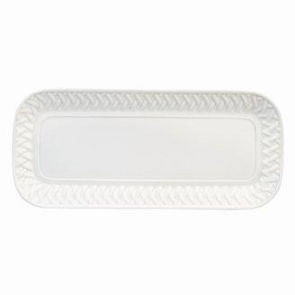 "Philippe Deshoulieres Louisiane"" Rectangular Cake Platter, 14.2"" x 6.9"""