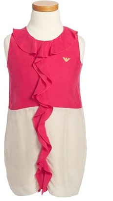 Armani Junior Ruffle Dress (Little Girls)