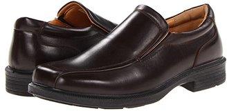 Deer Stags Greenpoint Slip-On Loafer (Black) Men's Slip on Shoes