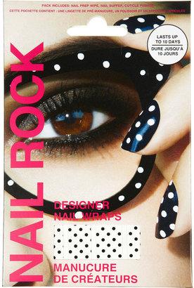 Topshop Black Dots Wraps By Nail Rock