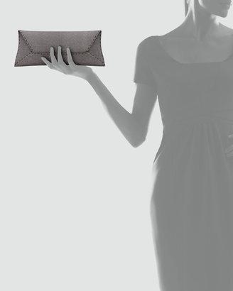 VBH Manila Stretch Sparkle Clutch Bag, Gray