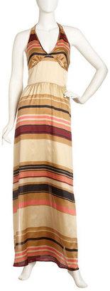 Jenny Han Halter Maxi Dress