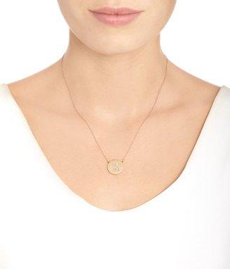 Jennifer Meyer Women's Initial Pendant Necklace-Colorless