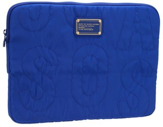 Marc by Marc Jacobs Pretty Nylon 13 Computer Case (Bauhaus Blue) - Bags and Luggage