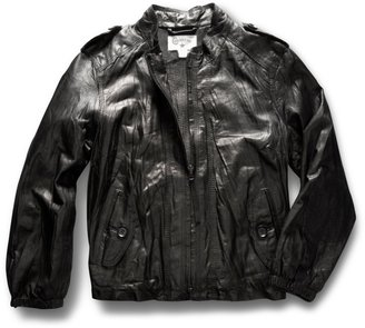 Converse Women's Easy Leather Jacket