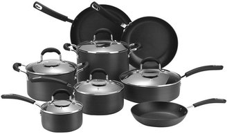 JCPenney Cooks 13-pc. Classic Dishwasher-Safe Hard-Anodized Nonstick Cookware Set