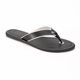 Chaps o-ring flip-flops