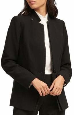 DKNY Long Sleeve One-Button Jacket