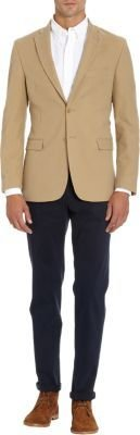 Barneys New York Sportcoat with Elbow Patches