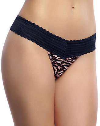 Warner's No Pinching No Problems Thong with Lace Panty
