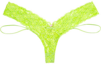 Agent Provocateur Margot neon stretch-lace thong