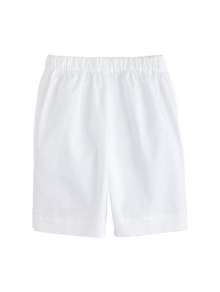 Oscar de la Renta Boys' Elastic Waist Cotton Twill Shorts