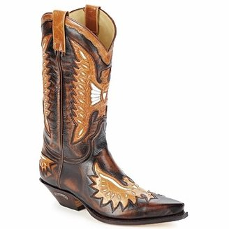 Sendra CHELY men's High Boots in Brown