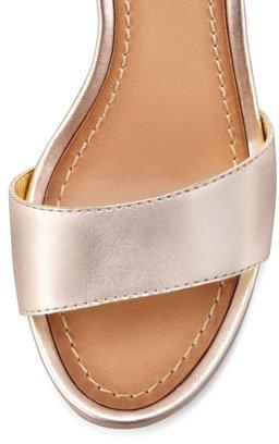 Seychelles Thyme Metallic Wedge Sandal