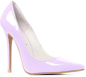 Jeffrey Campbell The Darling Shoe in Lilac Patent