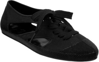 F-Troupe Rubber Lace-Up-Black