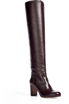 L'Autre Chose LAutre Chose Mahogany Mid-Heel Knee Boots