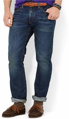 Polo Ralph Lauren Men's Varick Slim Straight Warwick-Wash Jeans $89.50 thestylecure.com