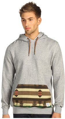 Crooks & Castles Mayan Knit Pullover (Heather/Brown) - Apparel