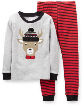 Carter's Christmas 2-Piece Snug Fit Cotton PJs