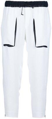 Helmut Lang drawstring trouser