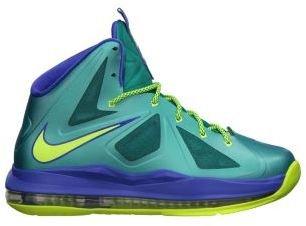 Nike LeBron X 3.5y-7y Boys' Basketball Shoes