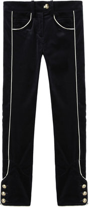 Isabel Marant Bauer Cropped Pants with Piping