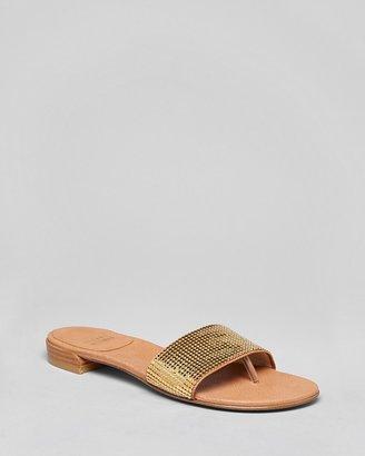 Stuart Weitzman Flat Sandals - Mailroom Chain