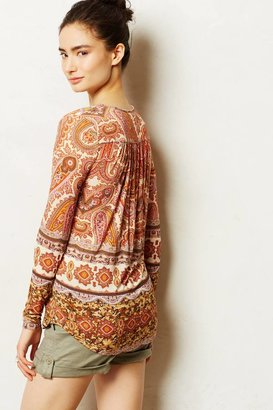 Graham & Spencer Velvet by Chiara Paisley Pullover