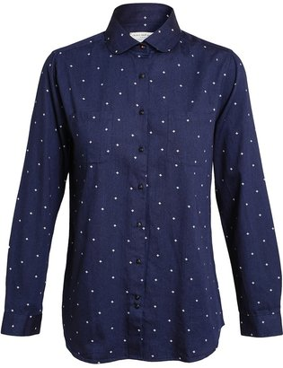 Chinti and Parker Diamond Printed Cotton Shirt