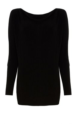 Alice + Olivia Boatneck Slouchy Long Sleeve Shirt